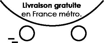 livraison gratuite en France métropolitaine